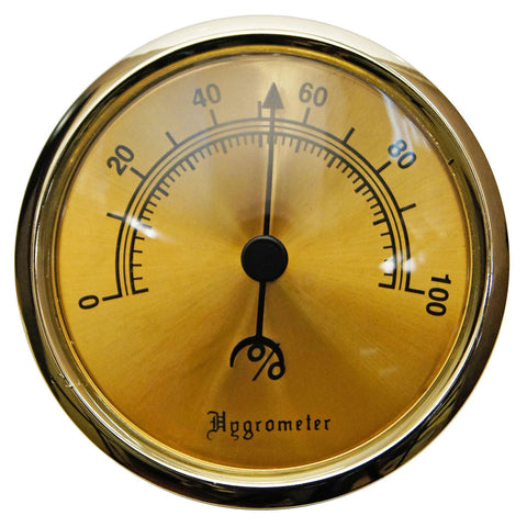 Analog Humidors Hygrometer for Large and Glass Top Humidor - Humidors Wholesaler