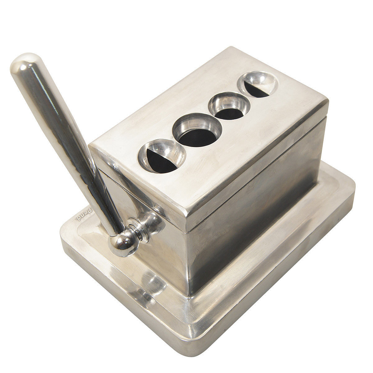 Stainless Steel Quad Cutter - Humidors Wholesaler
