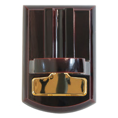 Tabletop Cigar Cutter Guillotine Mesa Fina Negro Black Gold - Humidors Wholesaler