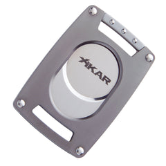 Xikar Ultra Slim Cigar Cutter and Lighter Gun Metal Gift Set - Humidors Wholesaler