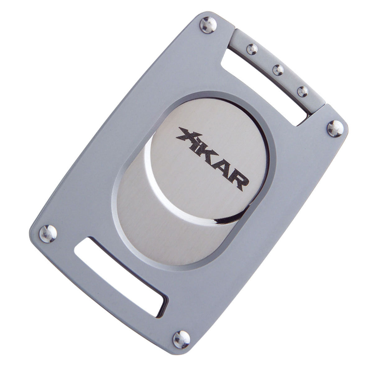 Xikar Ultra Slim Cigar Cutter and Lighter Silver Gift Set