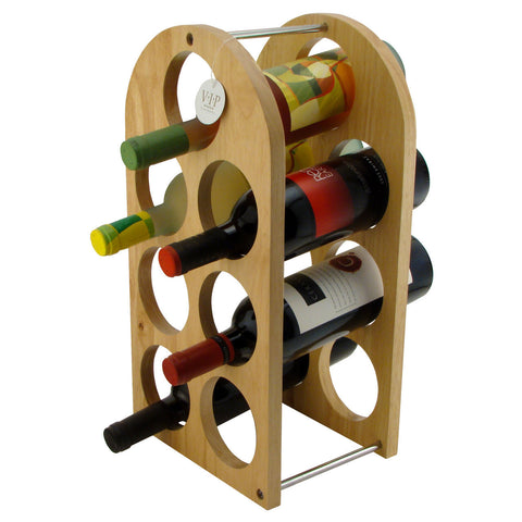 Wooden Wine Rack for 7 Wine Bottles - Humidors Wholesaler