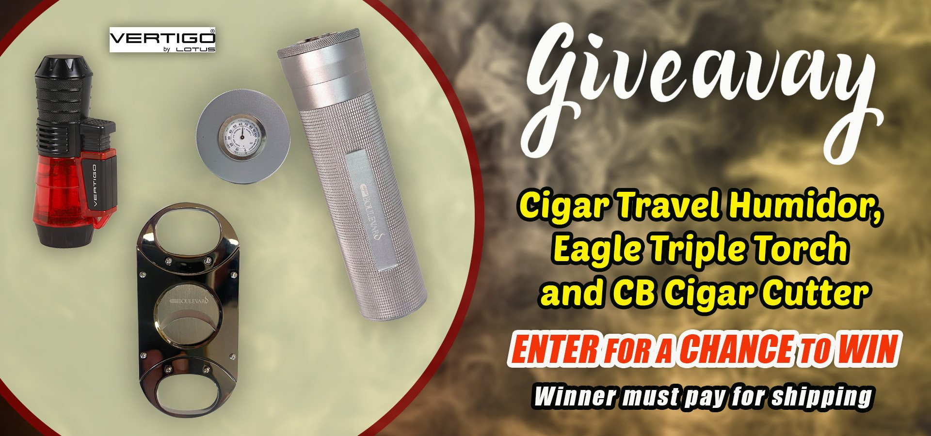 The Big Black Cigar Humidors