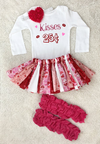 Kisses 25 cents Outfit
