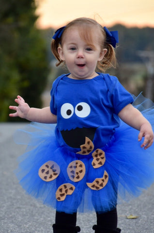 ... Cookie Monster Birthday Outfit  6f4f84c9ceab