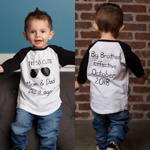 Big Brother shirt | Pregnancy announcement big Brother shirt