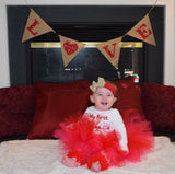 Daddy's Little Sweetheart Valentine's Day Outfit