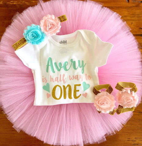 1460f52152b2 Half Birthday Outfit – Tutu Cute By Carrie
