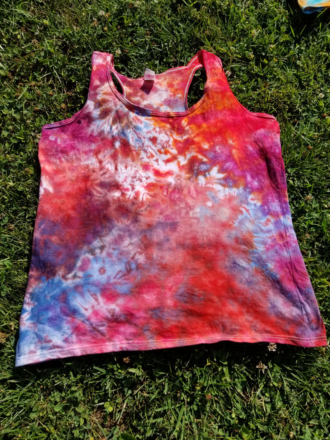 Ladies Large Racerback Tank Top
