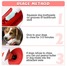 Dog Toothbrush Chew Toy | Teeth Cleaning Stick | Mint Flavor Dental Oral Care