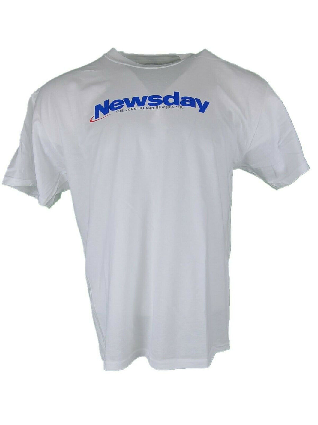 Long Island  Newsday  T Shirt XL New White With Logo
