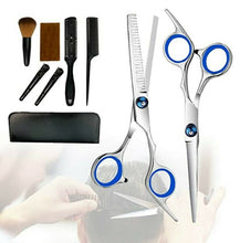 Professional Hair Cutting Scissors Set,Japanese Stainless Steel Haircut Thinning
