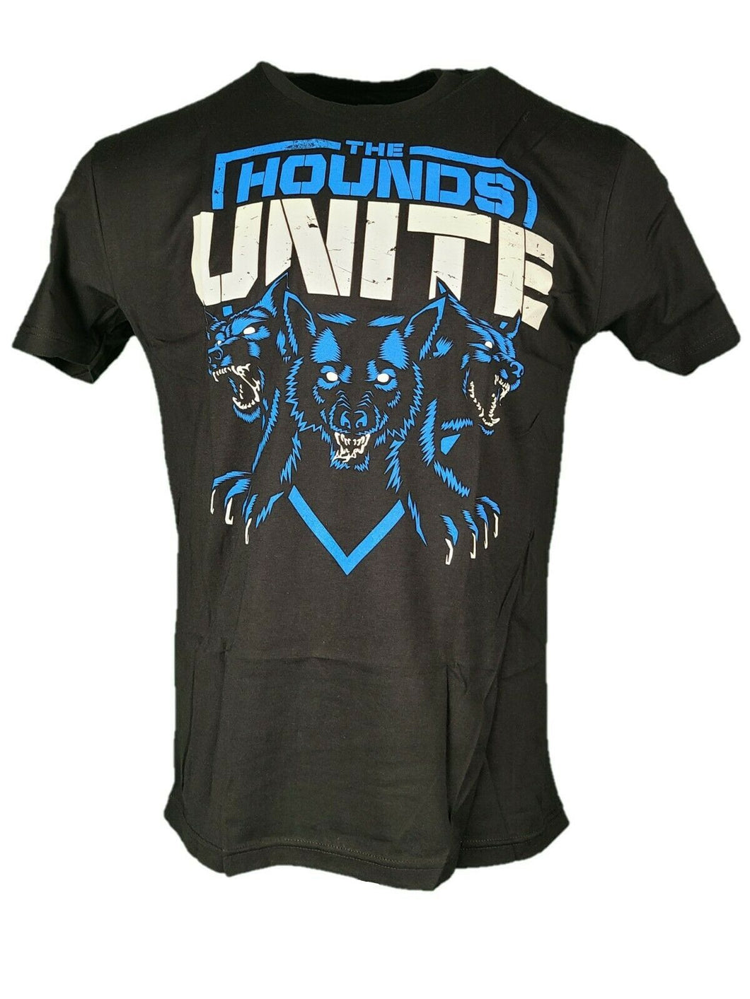 The Shield Hounds Unite WWE Authentic Mens Black T-shirt New Size Large