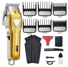 Hair Clippers for Men, Cordless Rechargeable Hair Trimmer Cutting Grooming Kit