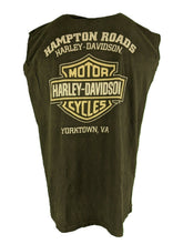 Harley Davidson Sleeveless t Shirt XL 2014 Printed On Front And Back