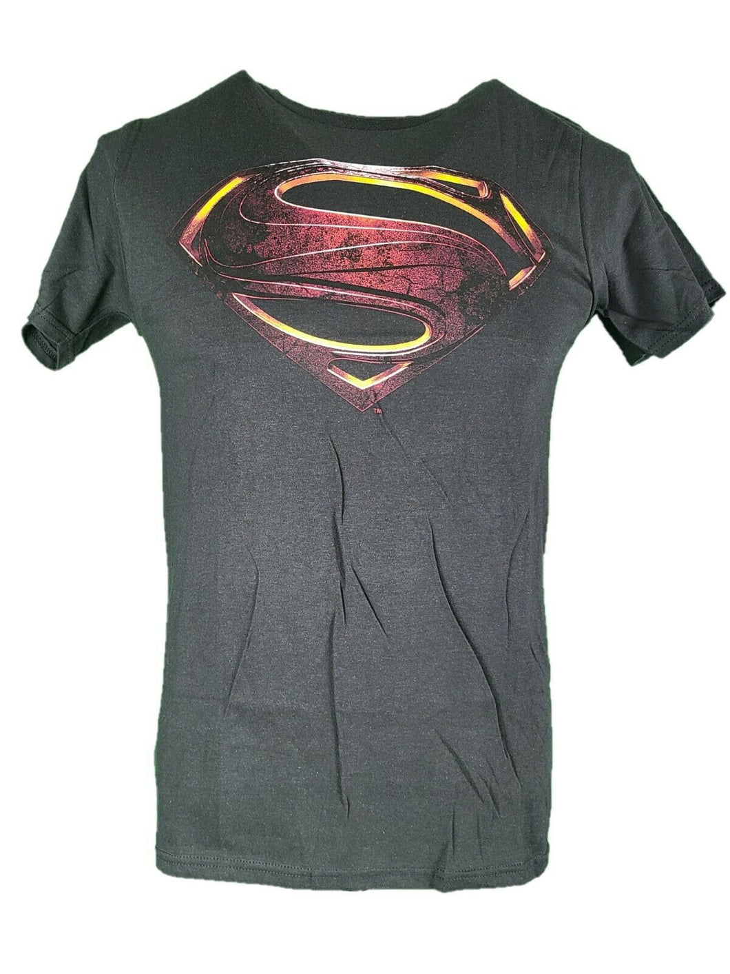 New DC comics Justice League T shirt Superman Black With Superman Logo
