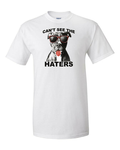 Funny T-Shirt Can't See The Haters In Many Colors