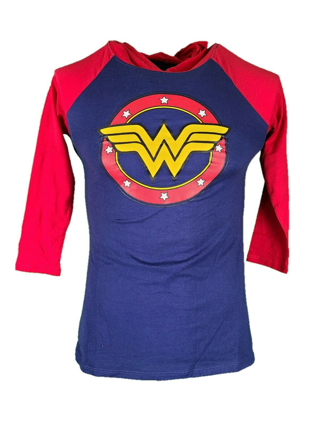 DC Comics Wonder Woman Hoodie  Shirt Girls Long Sleeve New With Tags