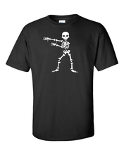 Funny T-Shirt Dancing Skeleton In Many Colors