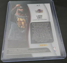 LeBron James 2019-20 Prizm NBA Finalists Card Lakers