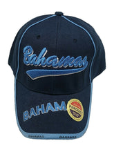 Bahamas Embroidered Baseball Cap Hat Adjustable Blue New With Tags One Size Fit