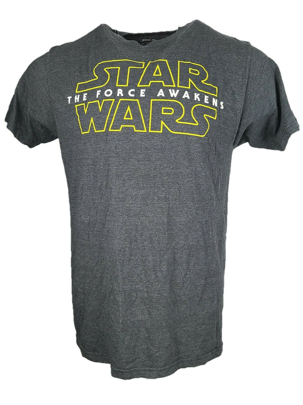 Star Wars Graphic T Shirt  Crew Neck Black Size Large