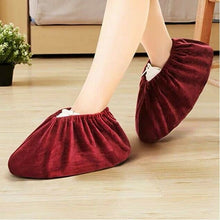 King 5 Pairs Non Slip Washable Reusable Shoe Covers For Household Thickened Boot