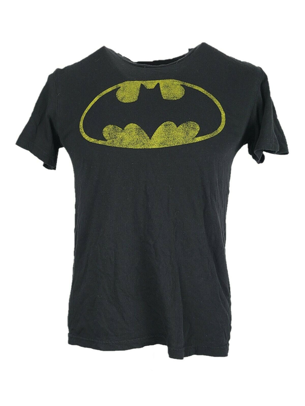 Batman T-Shirt Size M Color Black Graphic Front Good Condition