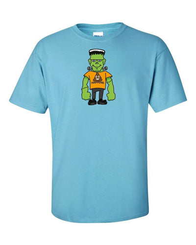 Funny T-Shirt Frankenstein Things Happen In Many Colors To Choose From