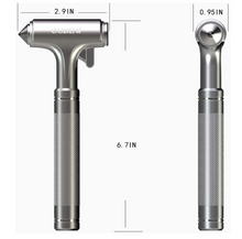 Glass Breaker, Window Hammer, Metal Car Safety Hammer,with Hard Alloy Head