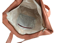 Women Handbag Synthetic Leather Satchel Tote Bag Shoulder Purse New Tan WithTags