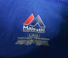 Majestic Toronto Blue Jays MLB Short Sleeve Youth Graphic Button Henley Tee NEW