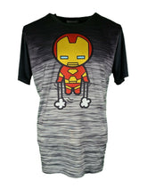 Marvel Comics Iron-man T-Shirt Size XL 100% Polyester Super Soft Black