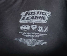 DC Comics Justice League of America Ringer T Shirt New Black Vintage Look
