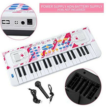 Kids Piano  Portable Electronic Musical Instrument 37 Keys Piano Toy for Toddler