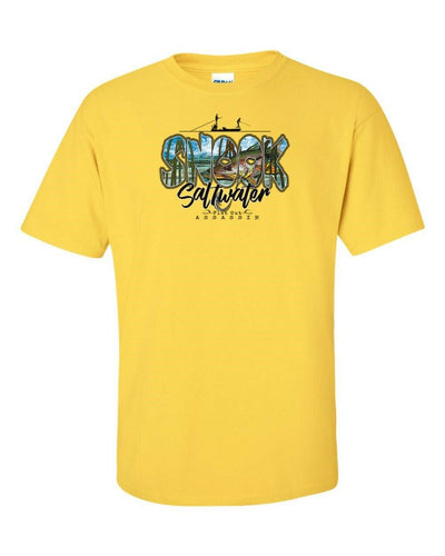 T-Shirt - Fishing - Snook Saltwater Flat Out Assassin - In Many Colors