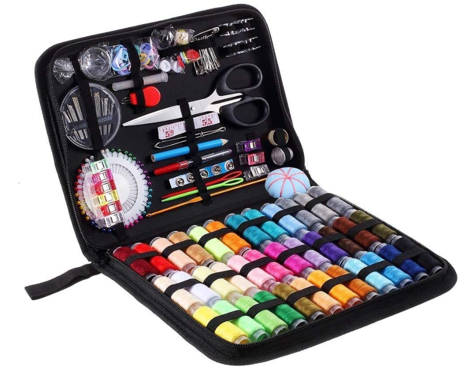 Sewing Kit,183 Premium Sewing Supplies,38 XL Thread Spools,Suitable for Adults