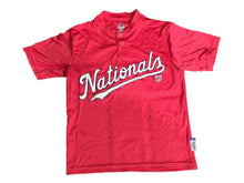 Washington Nationals MLB Majestic Kids Youth Size small T-Shirt New Red