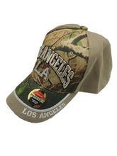 New City Of Los Angeles Embroidered Baseball Cap Hat Adjustable Camo One Size