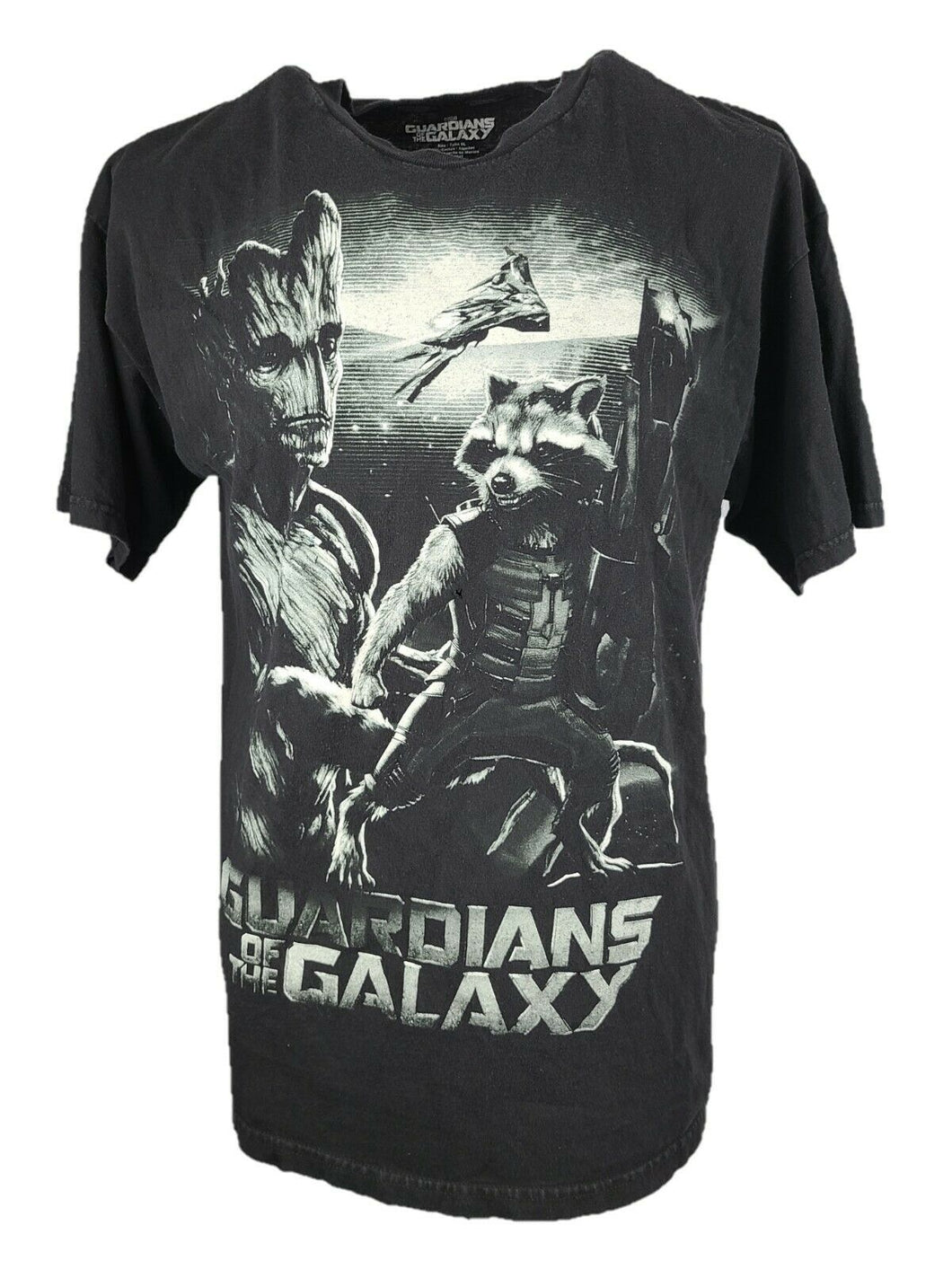 Marvel Guardian Of The Galaxy Graphic Shirt Size XL Color Black 100% Cotton