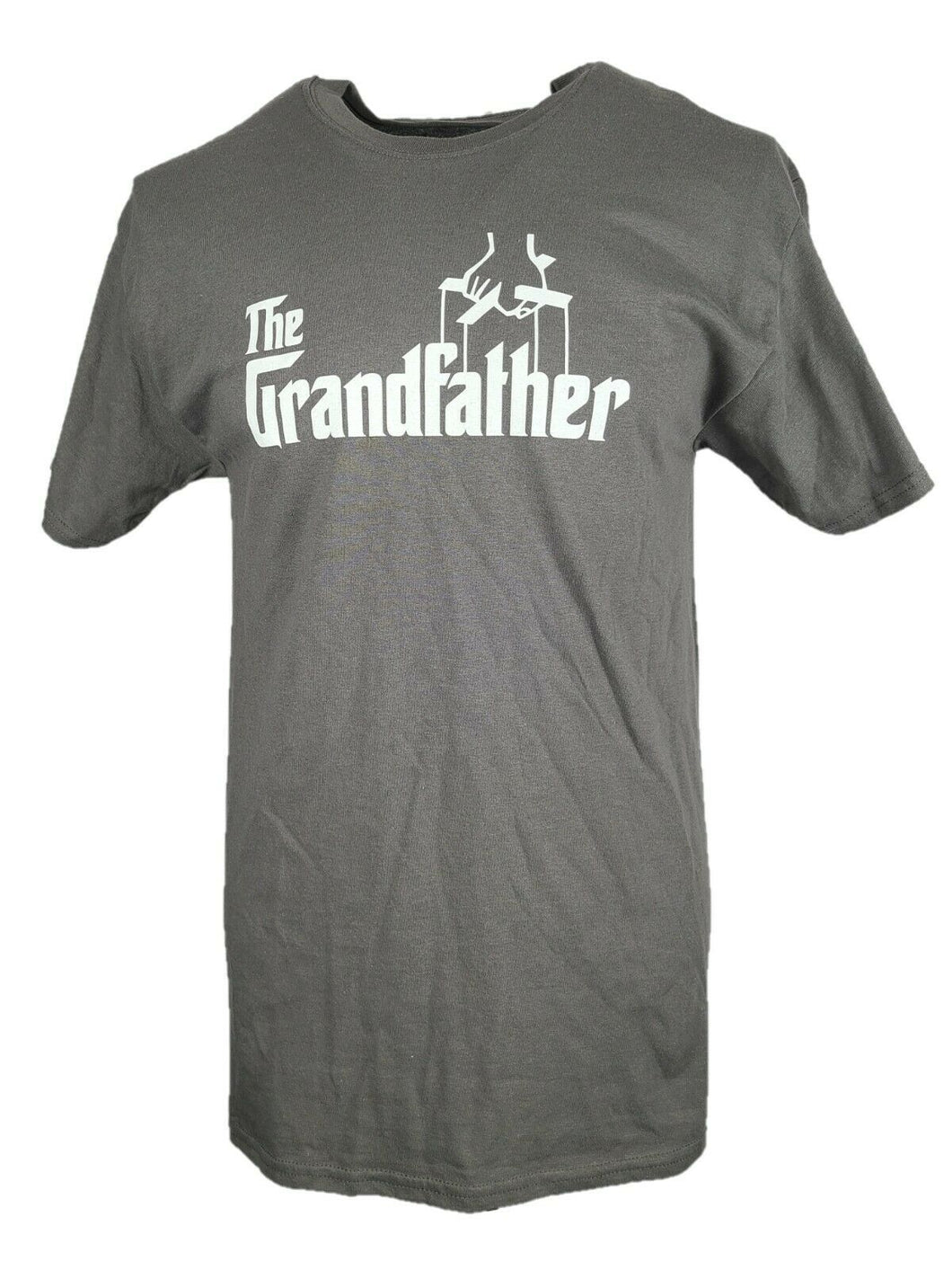 The God Father Graphic T Shirt Size Large Color Gray 100% Preshrunk Cotton