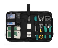 Network Tool Kit -  Cable Repair Maintenance Tool Set 12 in 1 Including Cable