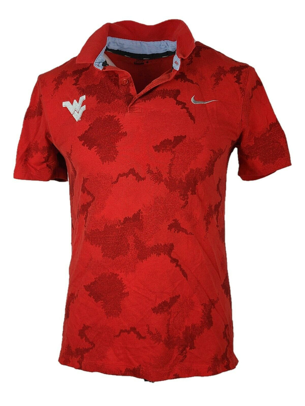 Men's Polo Nike Golf Dri-Fit Short Sleeve Shirt Size M Color Red Modern Fit