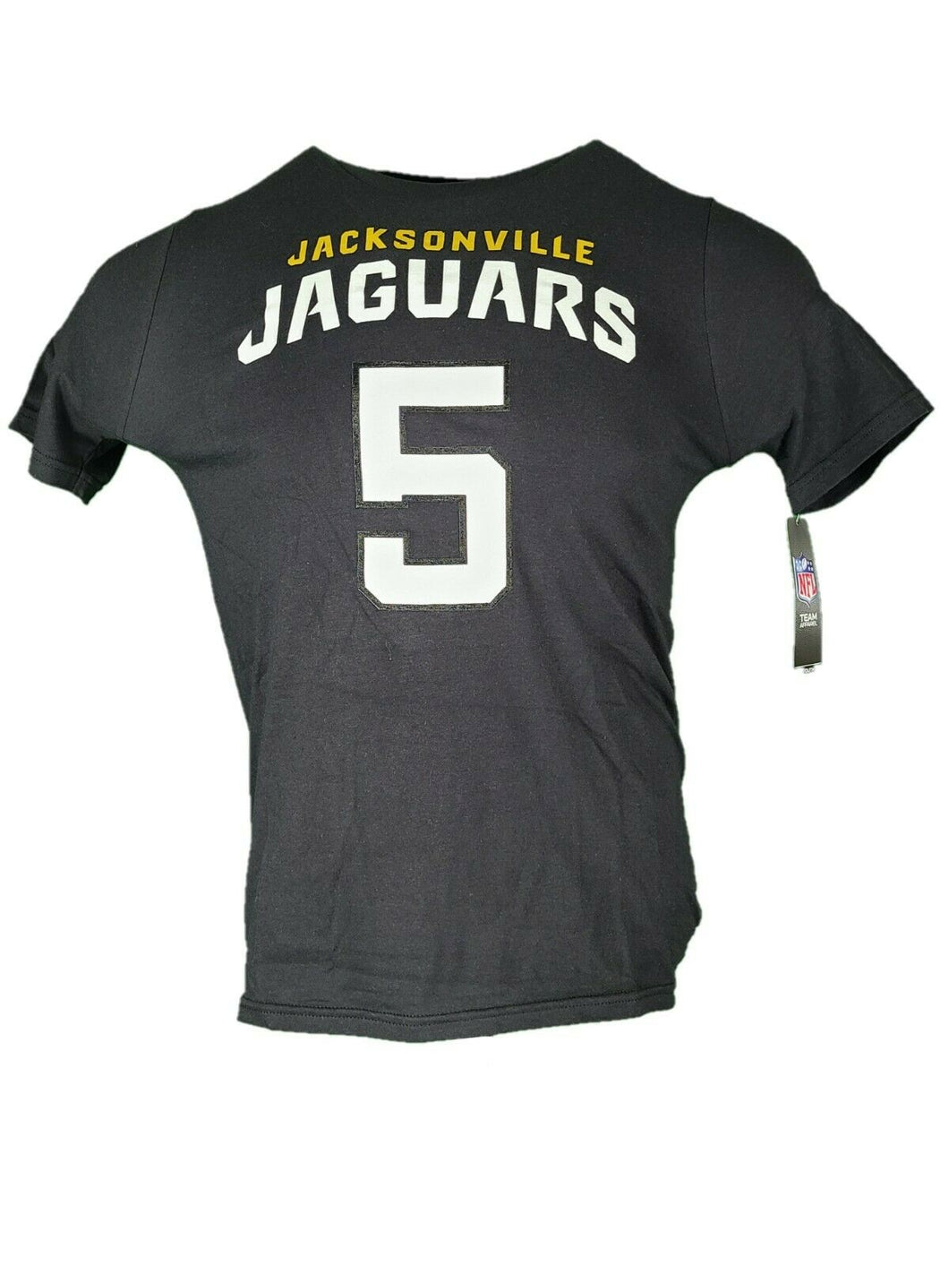 Jacksonville Jaguars Florida T Shirt Bortles Number 5 Youth Size Large New Large