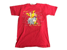 Walt Disney World  T Shirt Small Red Friends Winnie The Pooh Tiger