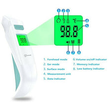 Digital Infrared Ear Forehead Thermometer No Touch for Adult Kids Baby