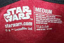 Star Wars Rule The Galaxy T Shirt Medium Red And Black Used Super soft