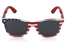 Usa Sunglasses American Flag Glasses July 4 Accessories UV400 Protected