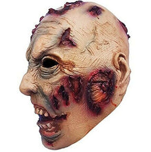 Brains Adult Latex Mask, Halloween Novelty Full Over The Head Latex mask Costume