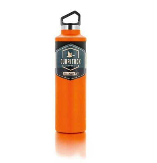 Currituck Standard Mouth Orange 20 oz. Water Bottle - BPA Free, Keeps Drink's